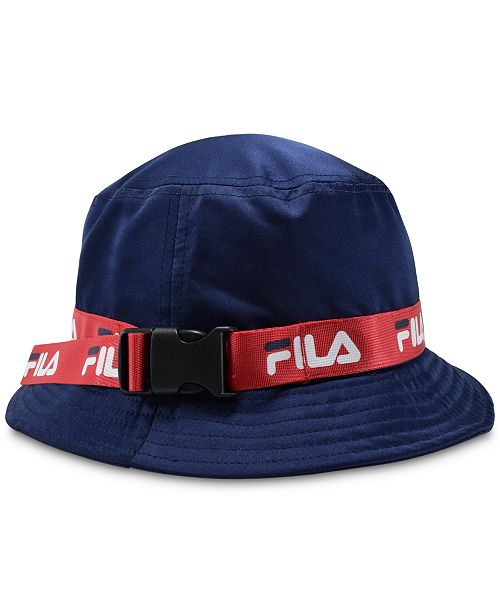 c435d3b8 Fila Satin Bucket Hat & Reviews - Women's Brands - Women - Macy's