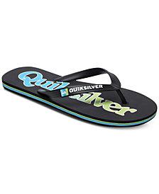 Quiksilver Men's Molokai Wordmark Flip-Flops