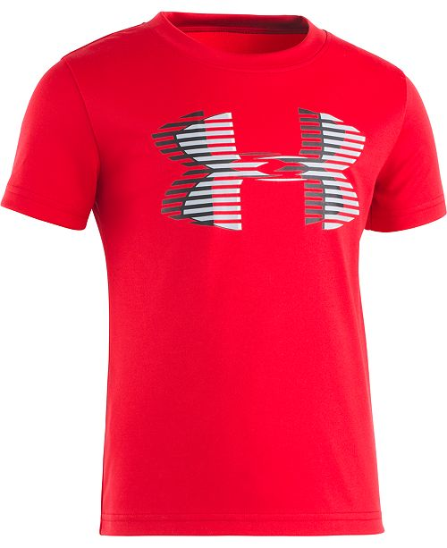 Under Armour Little Boys Linear Logo T-Shirt