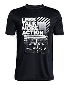 Under Armour Big Boys Action-Print T-Shirt