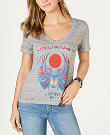 Lucky Brand Graphic V-Neck Top