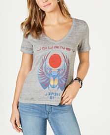 Lucky Brand Graphic V-Neck T-Shirt