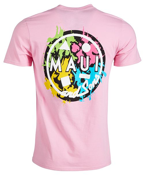 Maui and Sons Men's Logo Graphic T-Shirt