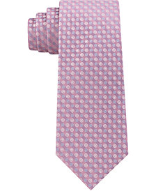Calvin Klein Men's Mini Bullseye Slim Silk Tie