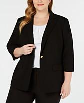 ef983ad2367 Calvin Klein Women s Plus Size Jackets - Macy s