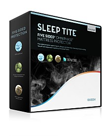 Sleep Tite 5-Sided Mattress Protector with Omniphase and Tencel - Split Queen