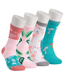 Disney® 4-Pk. Minnie Mouse Palm Springs Crew Socks