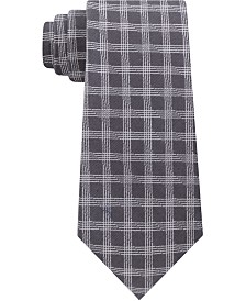 Calvin Klein Men's Grid Slim Tie