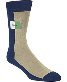 Calvin Klein Men's Colorblocked Crew Socks