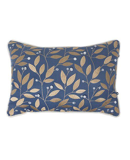 "Croscill Janine 18"" x 12"" Boudoir Decorative Pillow"