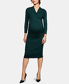 Isabella Oliver Maternity Ruched Dress