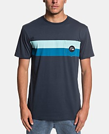 Quiksilver Men's Stripe T-Shirt