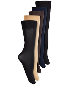 Polo Ralph Lauren 5-Pk. 400N Dress Trouser Socks