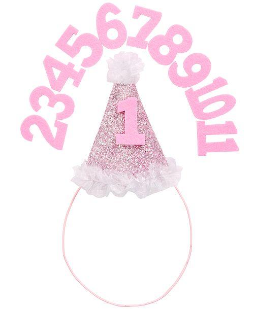 Frozen On the Verge Little & Big Girls Milestone Birthday Hat