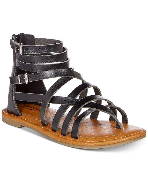 Rampage Little & Big Girls Rak Noeli Gladiator Sandals
