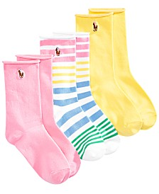 00eb19b1e Polo Ralph Lauren 3 Pack Knee High Socks