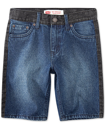 Levi's® Big Boys 502 Regular Taper-Fit Denim Shorts