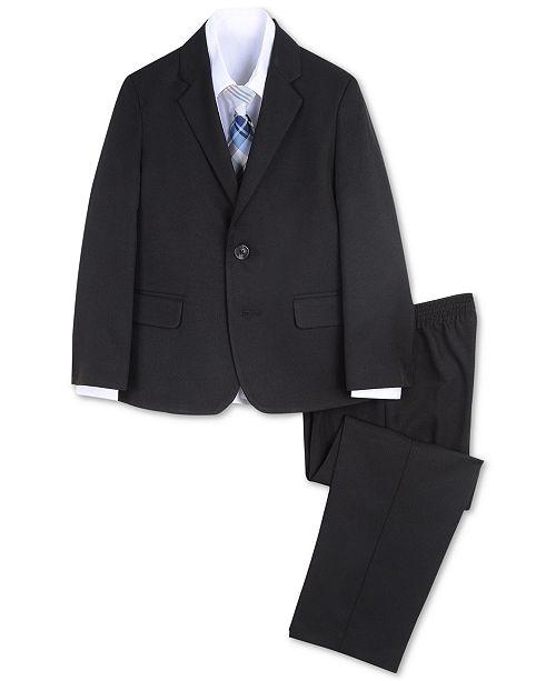 Nautica Toddler Boys 4-Pc. Herringbone Suit Set