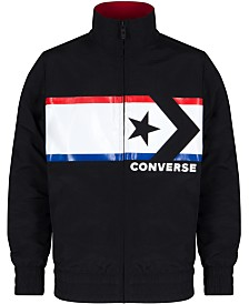 Converse Big Boys Chevron Star Woven Jacket