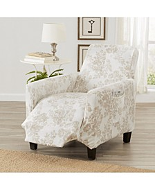 Velvet Plush Printed Form Fit Stretch Slipcover Collection