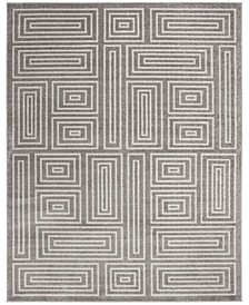 Amherst Gray and Ivory 9' x 12' Area Rug
