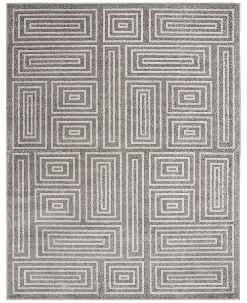 Safavieh Amherst Gray and Ivory 9' x 12' Area Rug