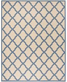 Linden Cream and Blue 9' x 12' Area Rug