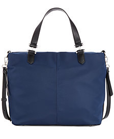 I.N.C. Elliah Nylon Satchel, Created for Macy's