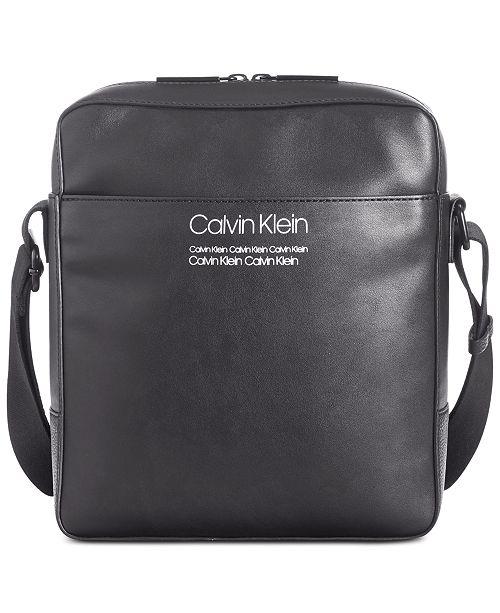 billigt för rabatt exklusivt sortiment nyanlända Calvin Klein Men's Crossbody Bag & Reviews - Laptop Bags ...