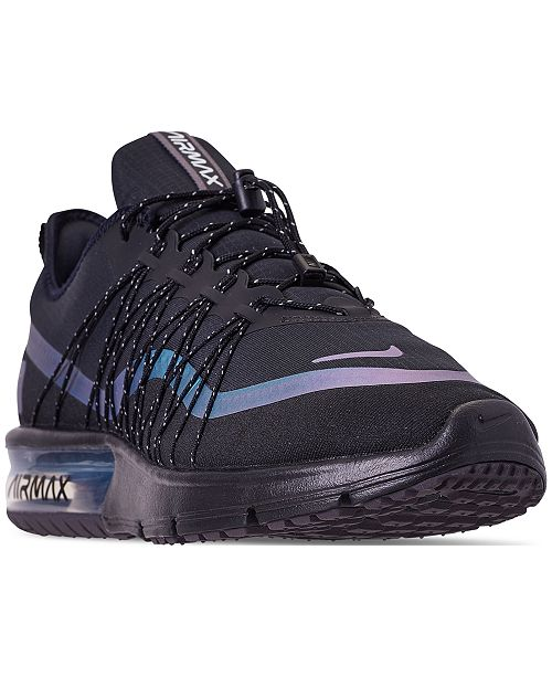 promo code 33aed 534aa Nike Men s Air Max Sequent 4 Shield Running Sneakers from Finish ...