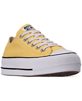 3e90d30bd0a8 Converse Women s Chuck Taylor All Star Lift Low Top Casual Sneakers from  Finish Line