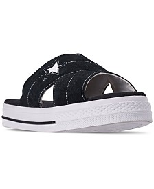 Converse Women's One Star Slip Athletic Slide Sandals from Finish Line