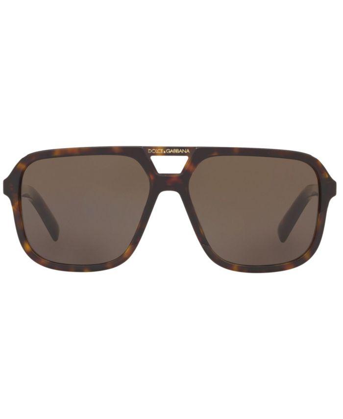 Dolce & Gabbana Sunglasses, DG4354 58 & Reviews - Sunglasses by Sunglass Hut - Men - Macy's