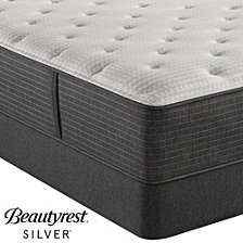 """Beautyrest Silver BRS900C-TSS 14.5"""" Luxury Firm Tight Top Mattress Set - Twin, Created For Macy's"""
