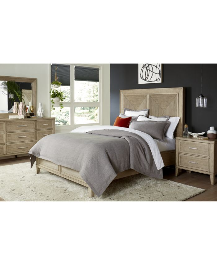 Furniture CLOSEOUT! Beckley King Bed, Created for Macy's & Reviews - Furniture - Macy's