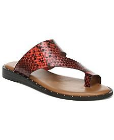 Franco Sarto Ginny Toe Thong Sandals