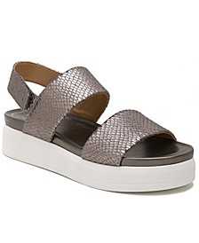 Kenan Platform Wedge Sandals