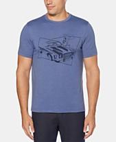 0203cc9bfa Perry Ellis Men s Car Crewneck Graphic T-Shirt