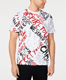 Sean John Men's Scream For Big Change Graphic T-Shirt