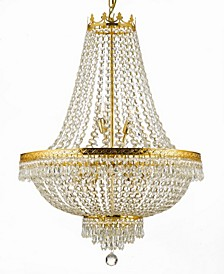 Empire 9-Light Crystal Chandelier