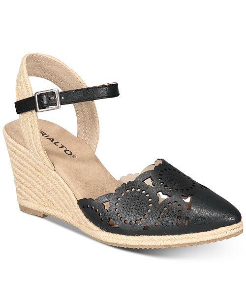 2c201212405 Rialto Coya Espadrille Wedge Sandals & Reviews - Sandals & Flip ...