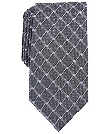 Perry Ellis Men's Brodie Grid Tie