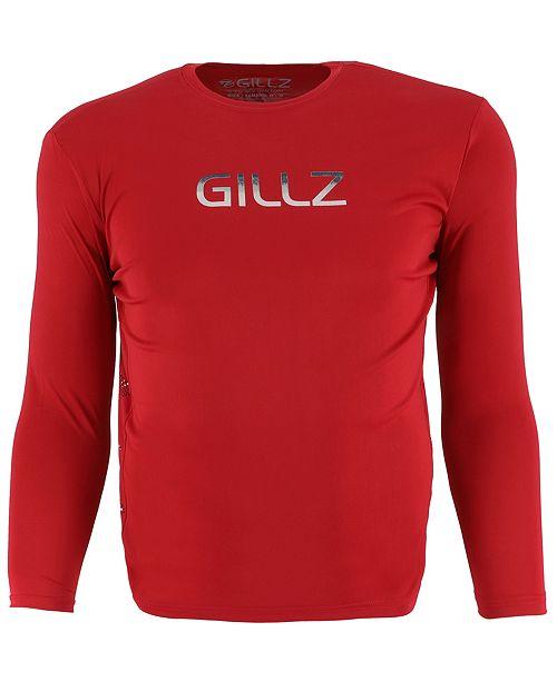 Gillz Men's Contender Series Logo Graphic Moisture-Wicking Ventilated T-Shirt
