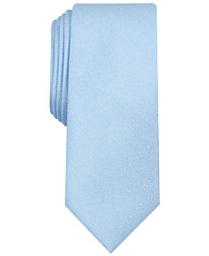 a261a4ca85909 Bar III Men's Valley Solid Skinny Tie, Created for Macy's