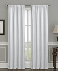 """Crescent Double Layer Total Blackout Rod Pocket Single Curtain Panel 50""""x95"""""""