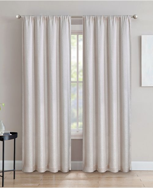 "Silk Home Living Silk+Home Light Filtering Rod Pocket Single Curtain Panel 52""x84"""