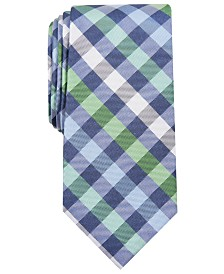 Nautica Men's Jones Check Slim Tie