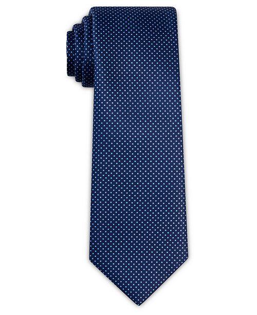 Tallia Men's Dot Print Slim Tie