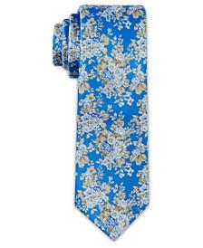 Tallia Men's Large Floral Print Slim Tie