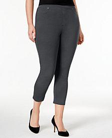 Style & Co Plus Size Capri Leggings, Created for Macy's